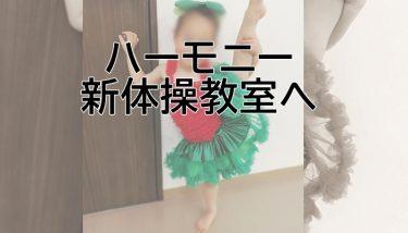 ハーモニー新体操クラブへ!新しい新体操教室へ~わ~ちゃんの新体操ブログ④~